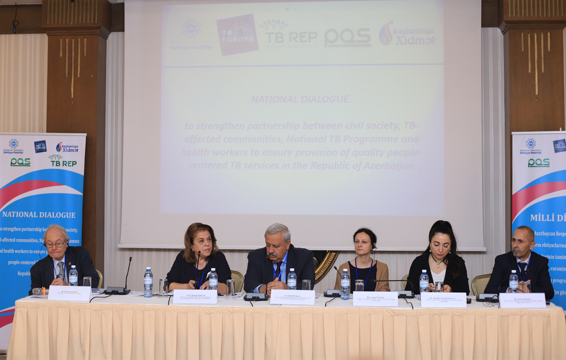 National Dialogue of Civil Society Organizations and Providers of TB Care in Azerbaijan