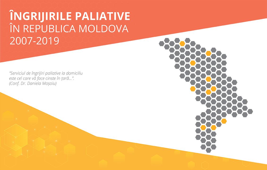"""Comunicat de presă. Lansare Studiu: """"Îngrijirile paliative în Republica Moldova, 2007-2019""""."""
