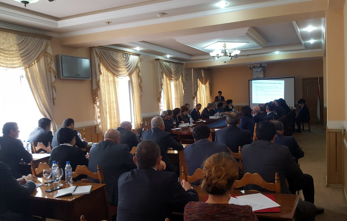 Parliamentary hearing on tuberculosis was held in Tajikistan