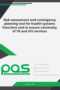 Risk assessment and contingency planning tool for health systems functions and to ensure continuity of TB and HIV services
