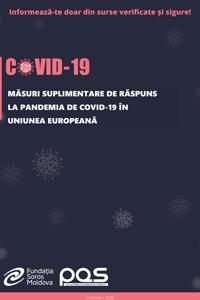 Măsuri suplimentare de răspuns la pandemia de COVID-19 în Uniunea Europeană