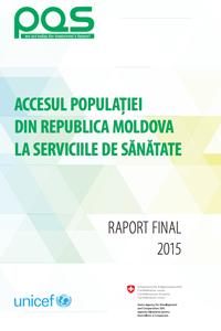Accesul populației din  Republica Moldova la serviciile de sănătate