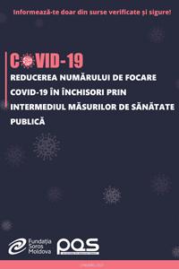 Reducerea numărului de focare COVID-19 în închisori prin intermediul măsurilor de sănătate publică