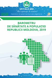Barometru de sanatate a populatiei Republicii Moldova, 2019