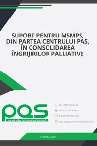 Suport pentru MSMPS, din partea Centrului PAS, în consolidarea îngrijirilor palliative