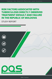 Risk factors associated with tuberculosis directly observed treatement default and failure in the Republic of Moldova.