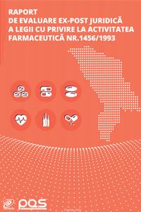 Raport de evaluare ex-post juridică a legii cu privire la activitatea farmaceutică Nr. 1456/1993