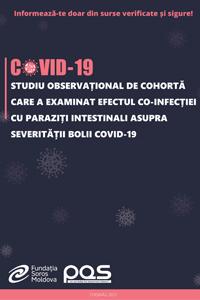 Studiu observațional de cohortă care a examinat efectul co-infecției cu paraziți intestinali asupra severității bolii COVID-19