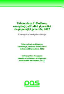 Tuberculosis in Moldova: Knowledge, Attitude and Practice in General Population, 2012
