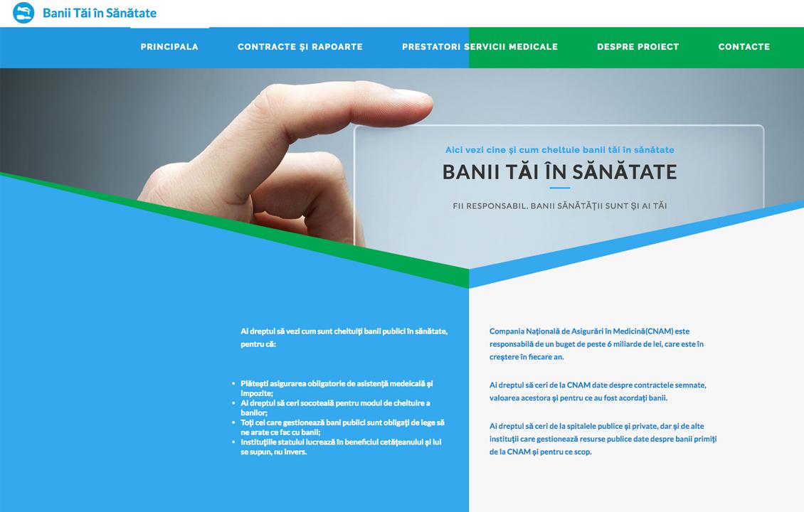 A fost lansată prima platformă care monitorizează cum sunt gestionați banii în sănătate – Banii Tăi în Sănătate