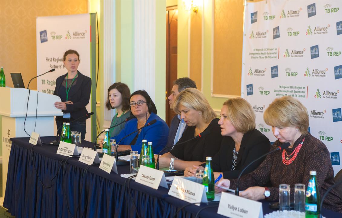 1-я региональная встреча партнёров по адвокации в рамках проекта TB-REP прошла в Киеве