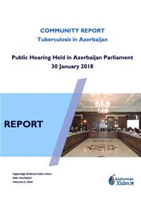COMMUNITY REPORT Tuberculosis in Azerbaijan